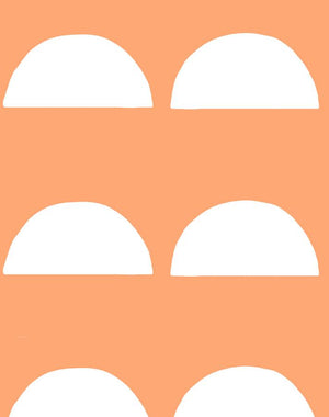 Sun Tile Creamsicle Wallpaper
