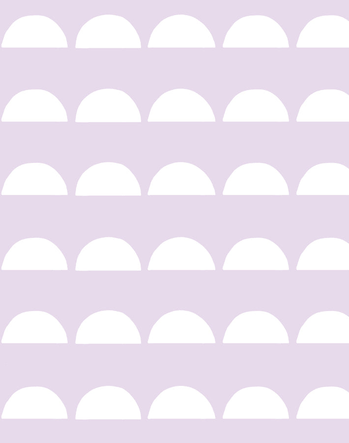 Sun Tile Lavender Wallpaper