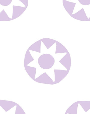 Sun Dial Lavender  Wallpaper