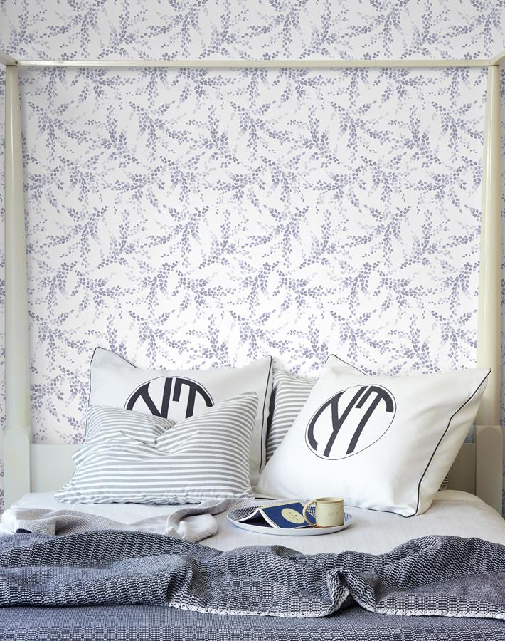 Sweet Caroline Lavender  Wallpaper