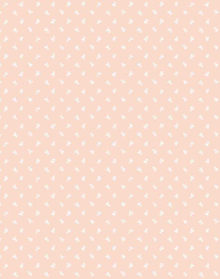 Teensy Floral Pink  Wallpaper