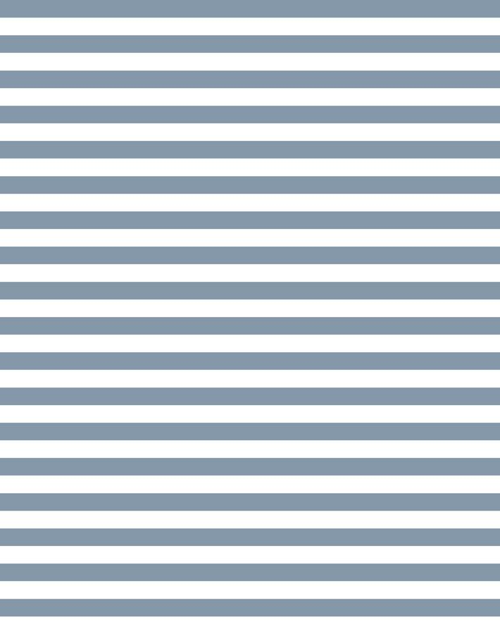 Cabana Stripe French Blue  Wallpaper