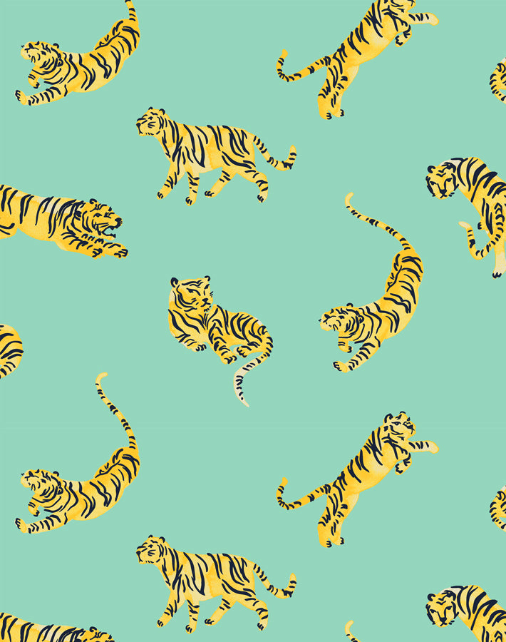 Tigers Caribbean  Wallpaper