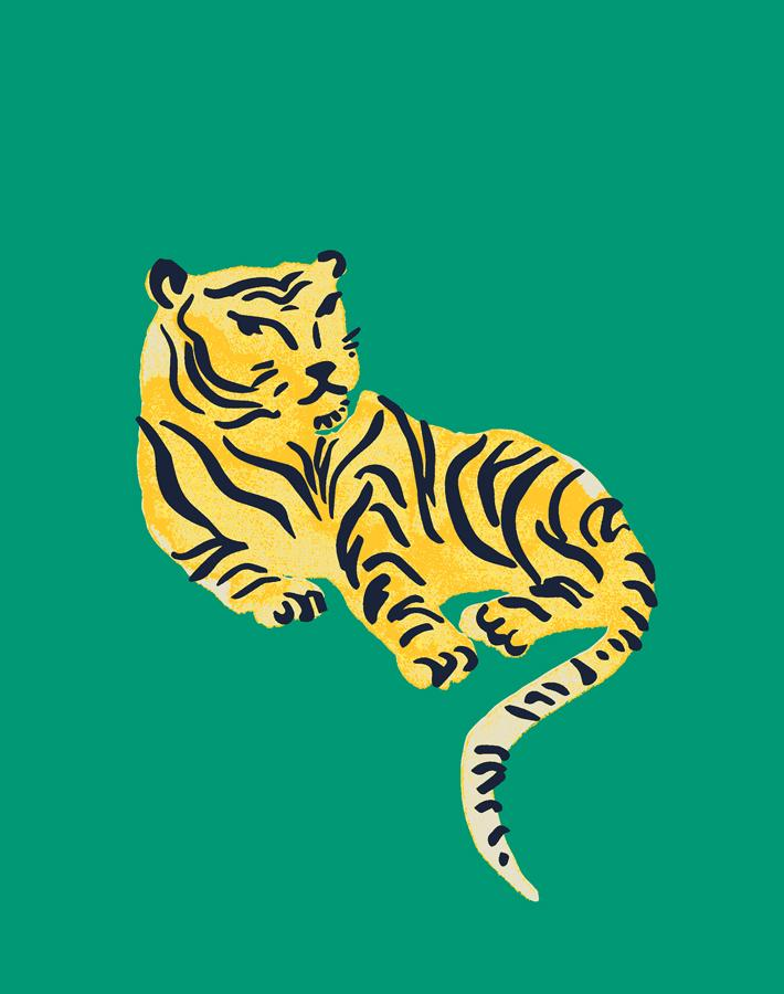 Tigers Emerald  Wallpaper
