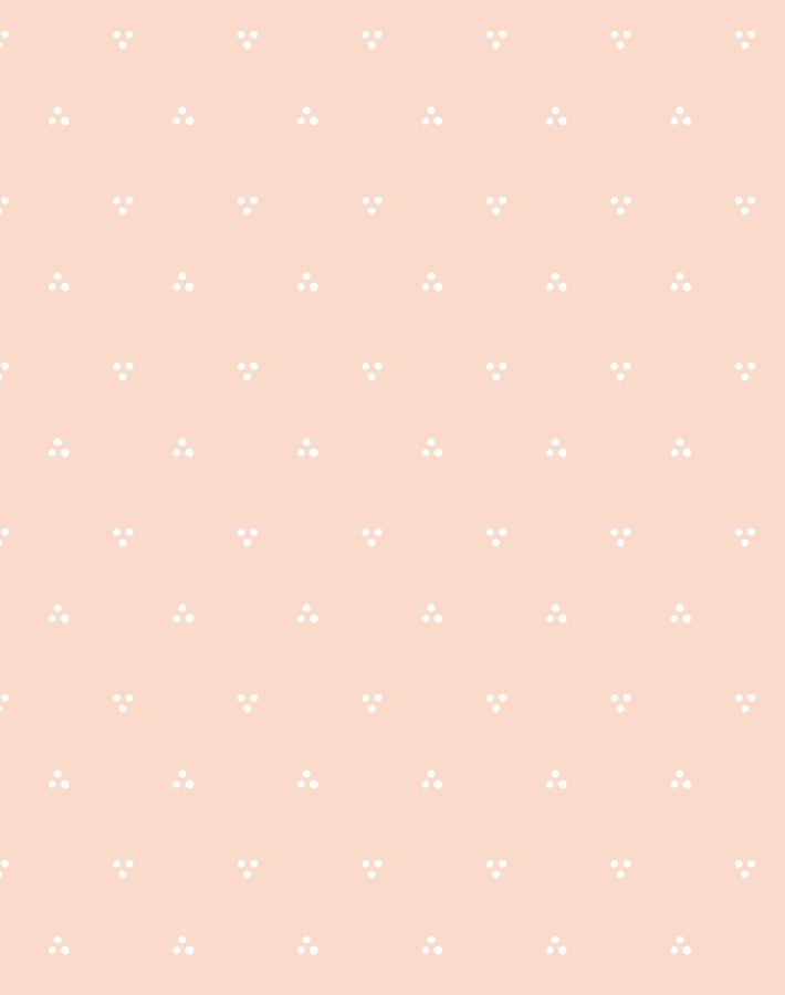 Dainty Dot Pink  Wallpaper