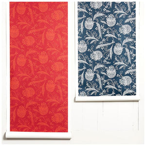 Eleanor Rigby Ruby Persimmon  Wallpaper