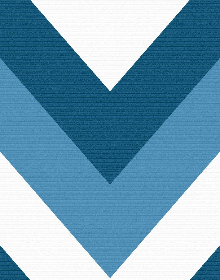 V Is For Chevron Blue  Wallpaper