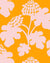 Casia Flowers Solid Marigold  Wallpaper