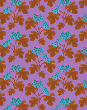 Casia Flowers Lilac  Wallpaper