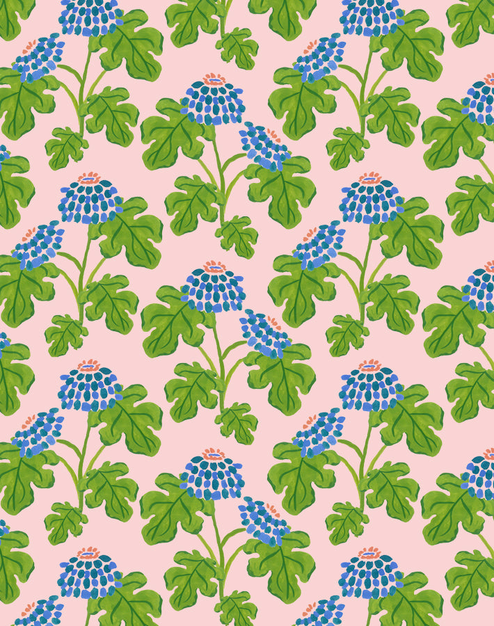 Casia Flowers Pink  Wallpaper