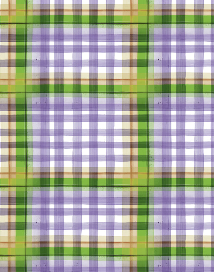 Plaid Plaid Lavender  Wallpaper