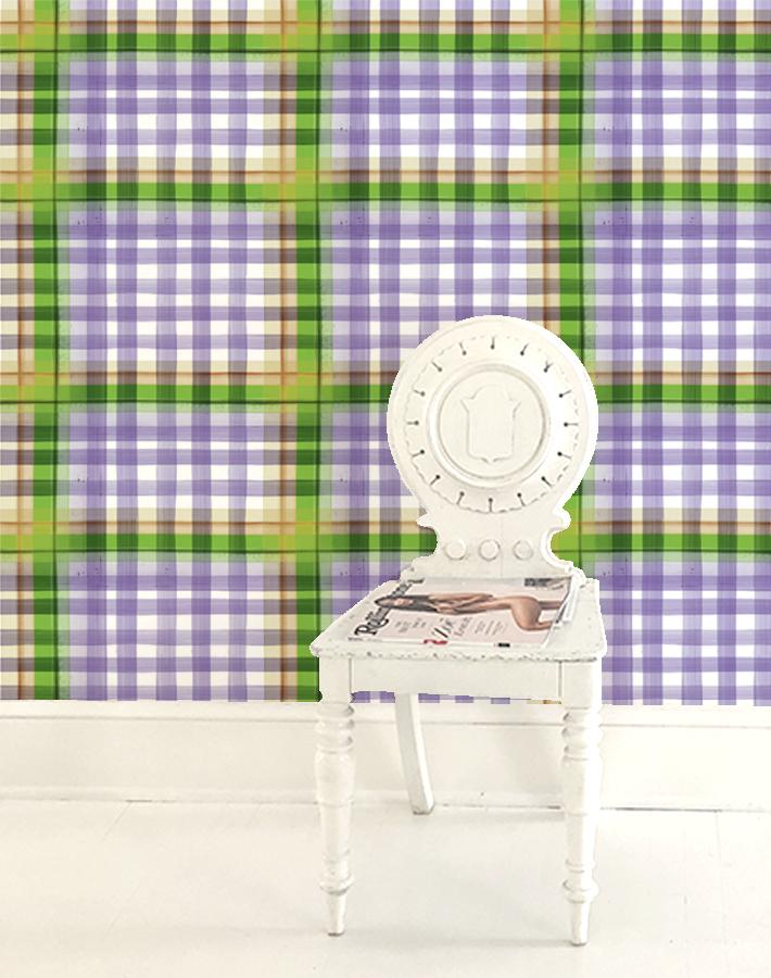Plaid Plaid - Lavender - Wallshoppe