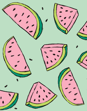 Watermelon Green Wallpaper