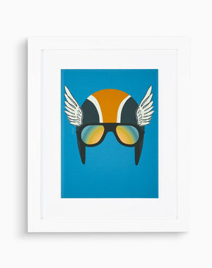 Artshoppe Winged Helmet by Tea Collection