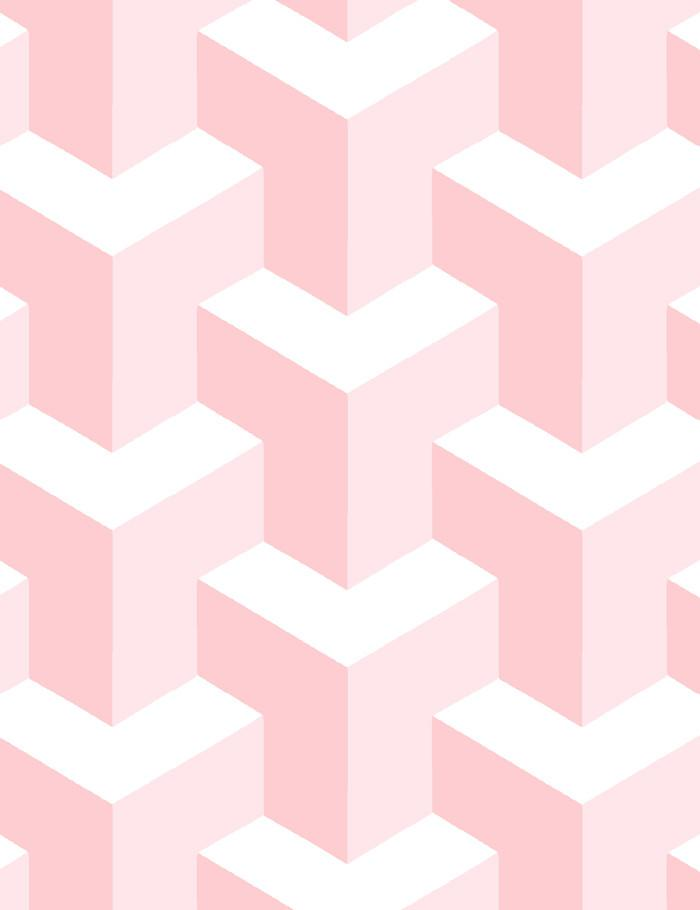 Y Not Wallpaper - Pink - Wallshoppe