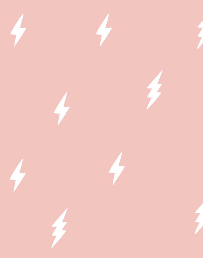 Zeus Lightning Pink  Wallpaper