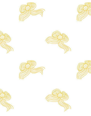 Bows Marigold  Wallpaper