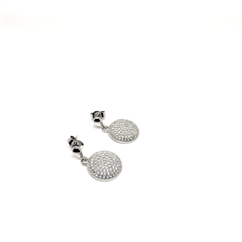 Set 925 Sterling Silver Plated Drop Stud Earrings. Add a Bracelet for just £5 - Naked Nation - 2