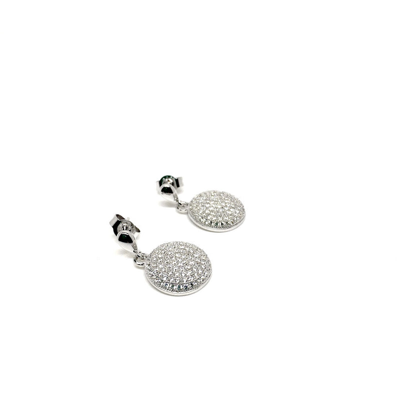 Set 925 Sterling Silver Plated Drop Stud Earrings. Add a Bracelet for just £5 - Naked Nation - 3
