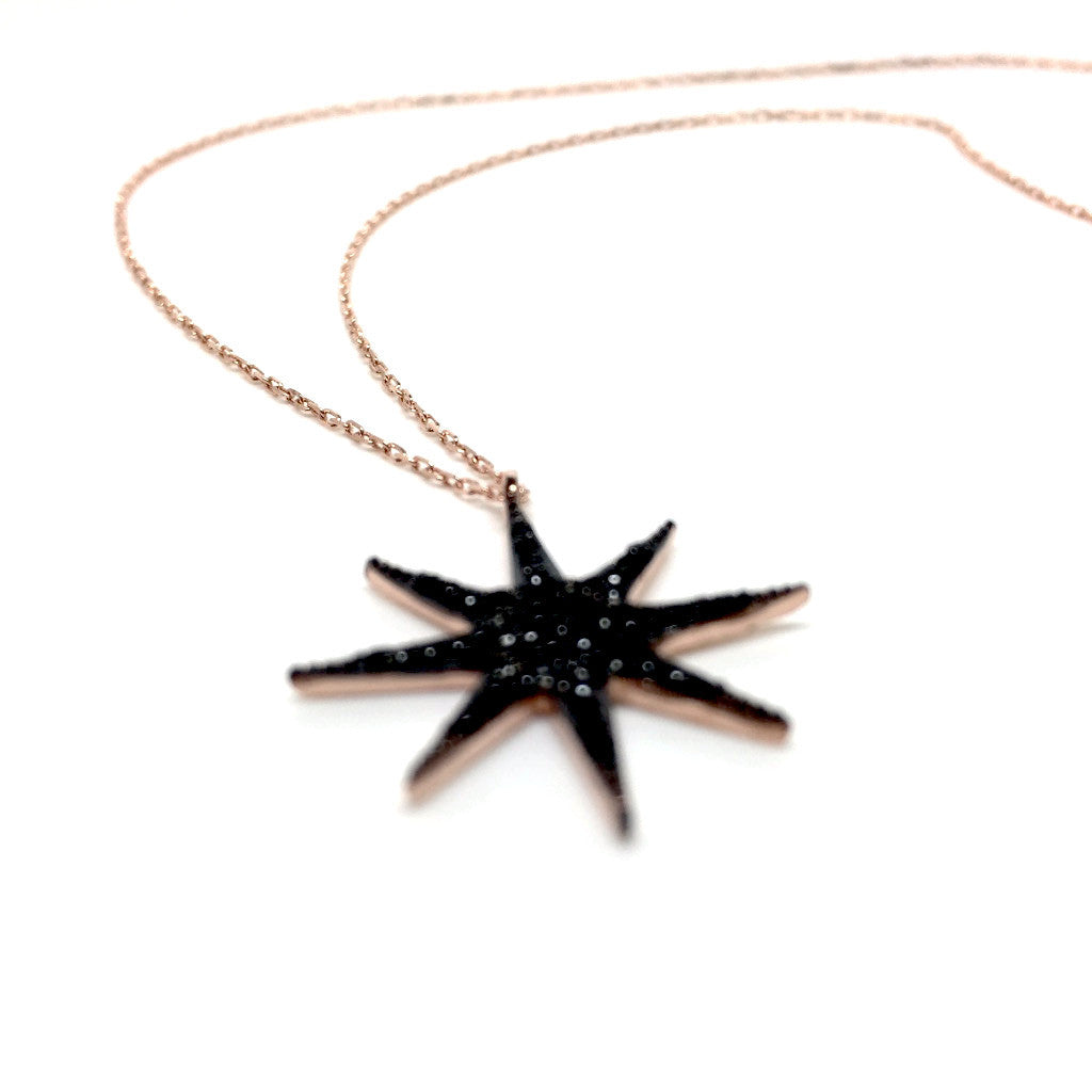 pendant scott pinterest in kendra black giving pendants and gift necklace pin drusy elisa jewelry