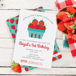 Strawberry Party Inspiration