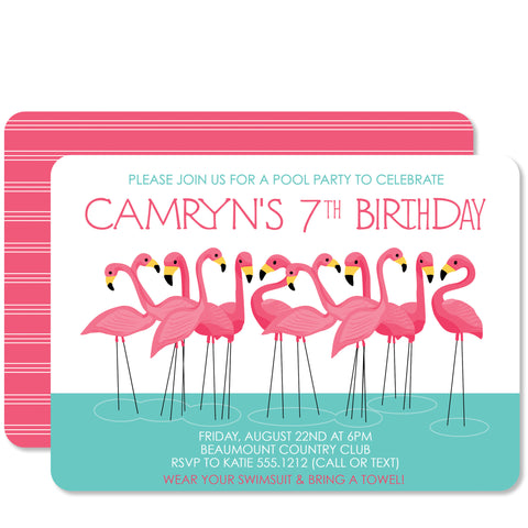 Flamingo Birthday (Pink)