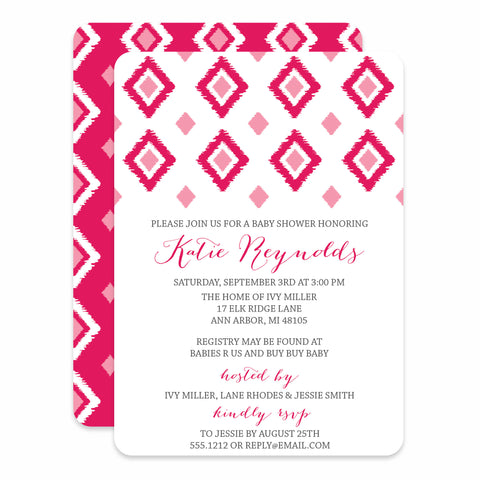 Ikat Baby Shower