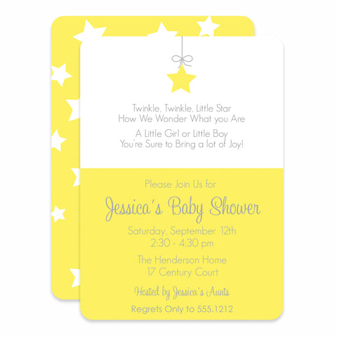 Little Star Baby Shower