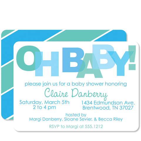 Oh Baby! Baby Shower
