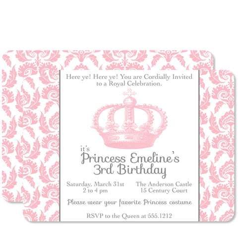 Princess Vintage Birthday