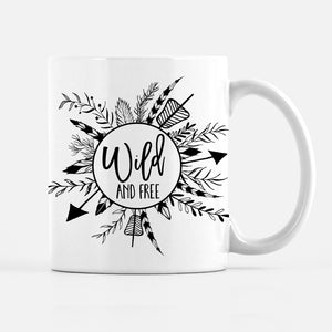 Wild and Free Coffee Mug | Pipsy.com