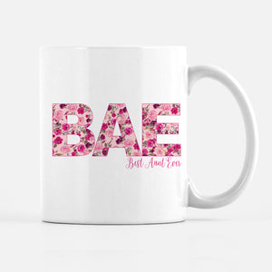 Best Aunt Ever BAE Coffee Mug