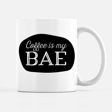 Coffee is my BAE Mug, funny coffee mug, gift for coffee lover, PIPSY.COM