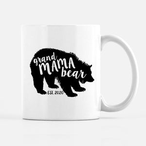 Grandmama Bear Mug | Mother's day gift for grandma | Pipsy.com, pregnancy announcement mug