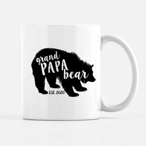 Grand Papa Bear Mug | Father's Day Mug | Pipsy.com