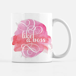Like A Boss Coffee Mug