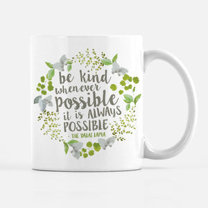 Be Kind Coffee Mug, PIPSY.COM