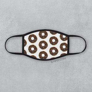 Chocolate Donut Face mask, Pipsy.com