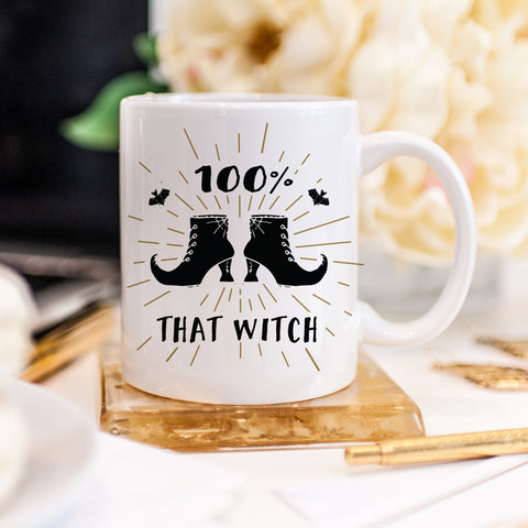 100% That Witch Boots Mug