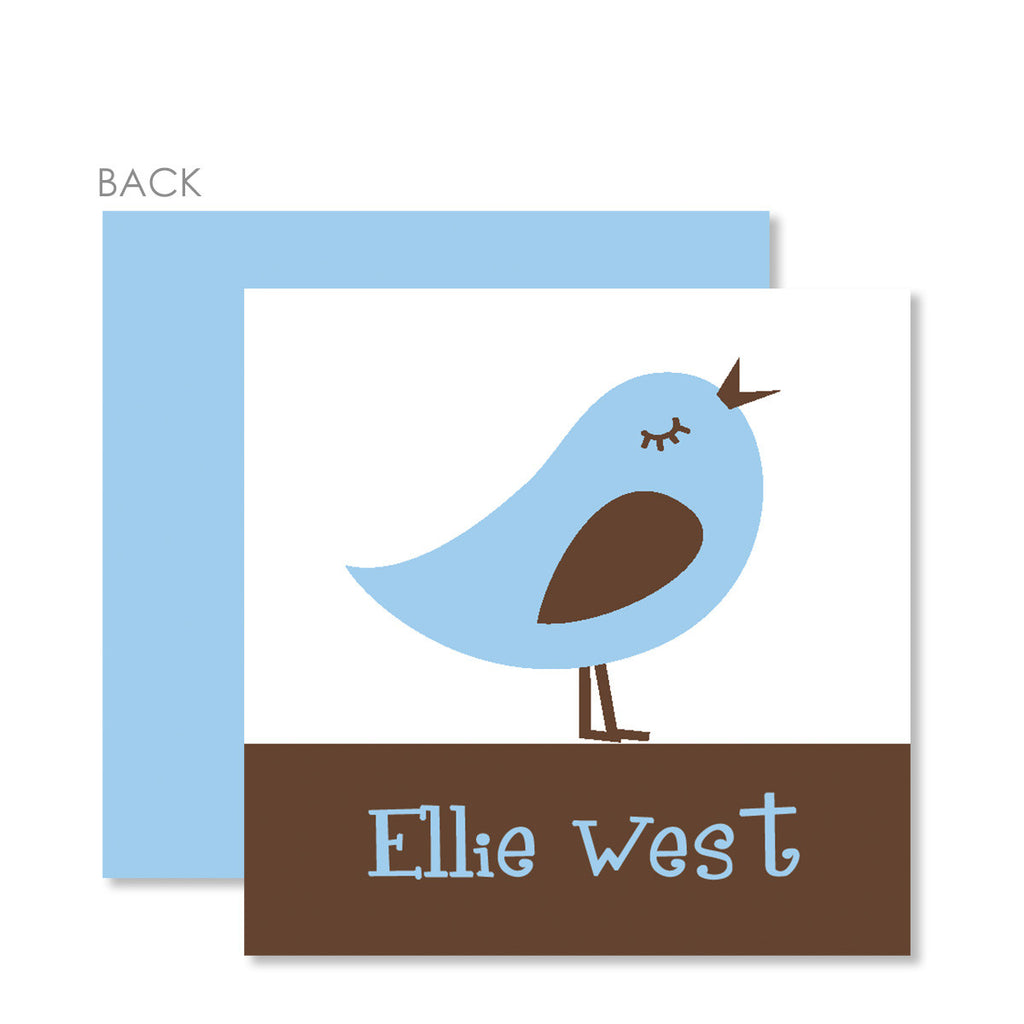 Retro Bird Gift Tags