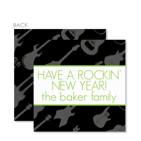 Rockin' Around The Christmas Tree Gift Tags
