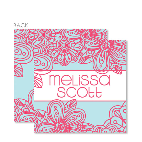 Pink Blossom Gift Tags