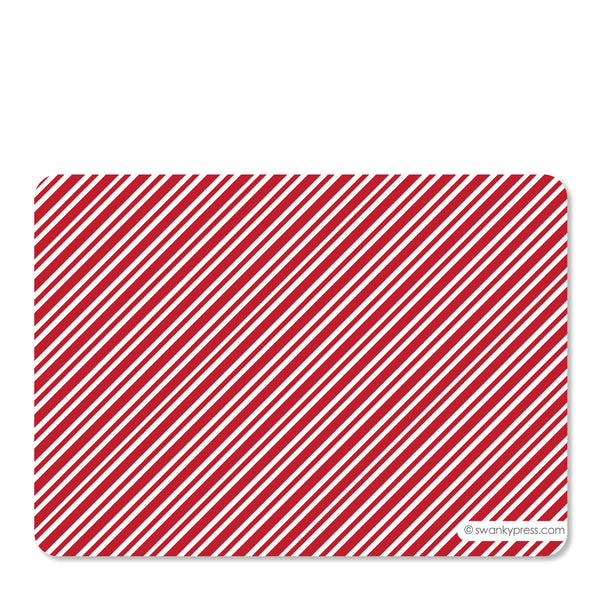 Candy Cane Holiday Photo Card