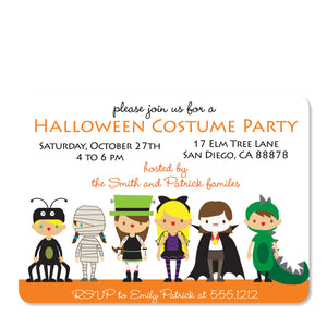 Costume Party Invitation (Printed)