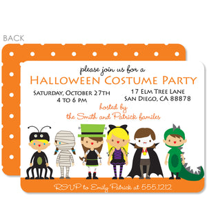 Costume Party Halloween Invitation | PIPSY.COM