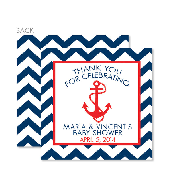 Anchor Favor Tags