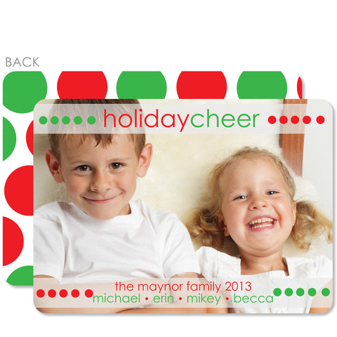 Holiday Cheer Photo Card