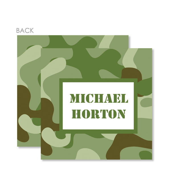 Army Gift Tags
