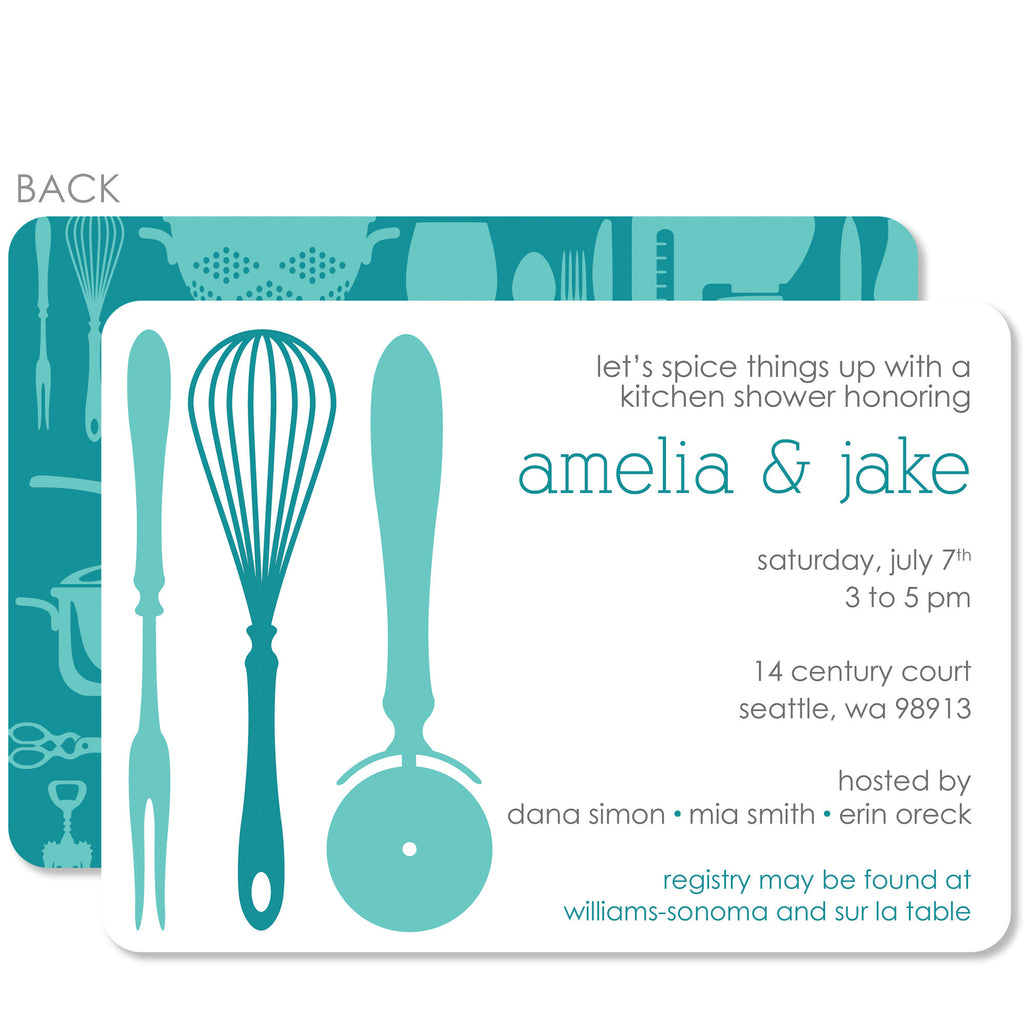 Kitchen Bridal Shower Invitation – Pipsy