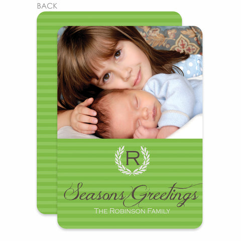 Laurel Holiday Photo Card